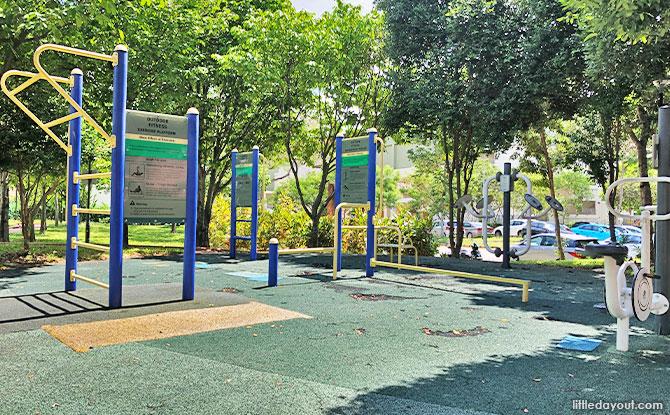 Fitness Corner at Festival Park At Tampines