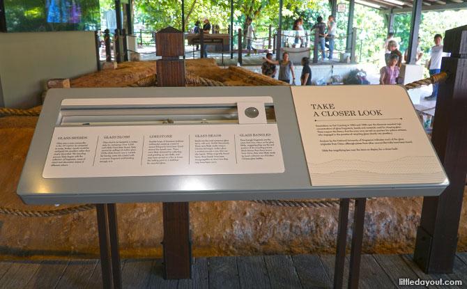 Interpretive Panels at Fort Canning Park's Artisan's Garden
