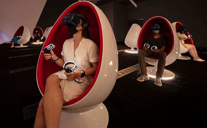 state-of-the-art virtual reality VR headsets