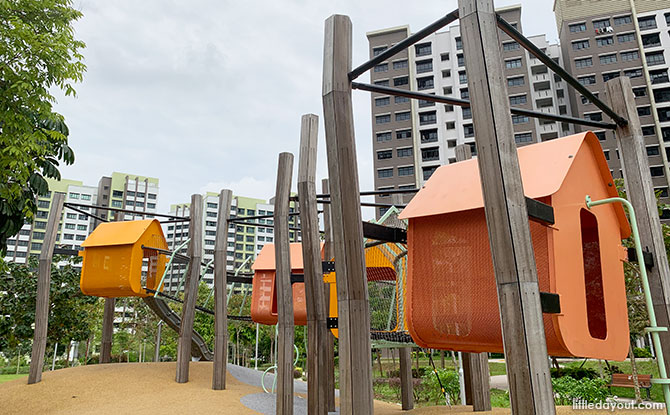 Playground at Buangkok Square Park