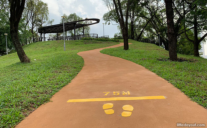 Jogging Footpath