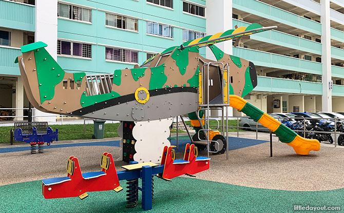 Airplane Themed Playground