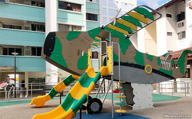 Prop Airplane Playground at Bukit Batok St 32