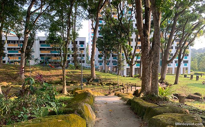 Pathways at Bukit Panjang Neighbourhood 2 Park