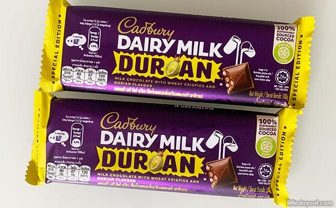 Cadbury Durian Chocolate Bar