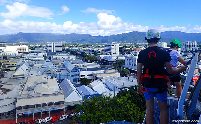 Dome Climb for a Unique View of Cairns