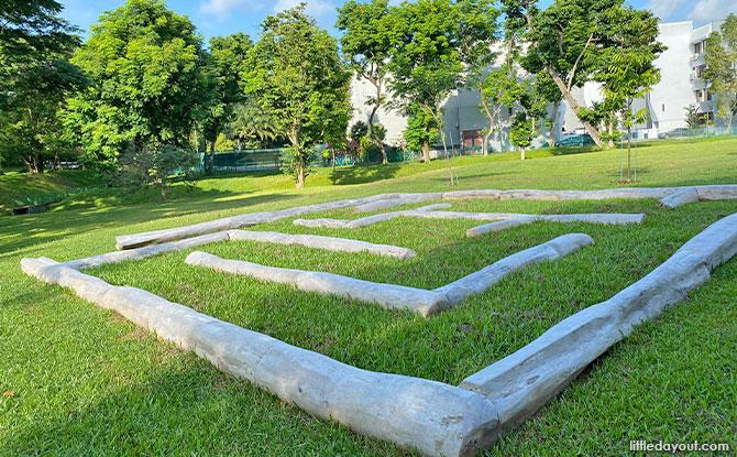 Log Maze