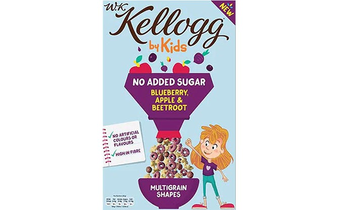 W.K. Kellogg by Kids Cereal