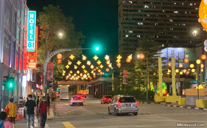 Street Light Up 2021 At Chinatown