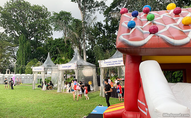 Bouncy Castle and Other Fringe Activities