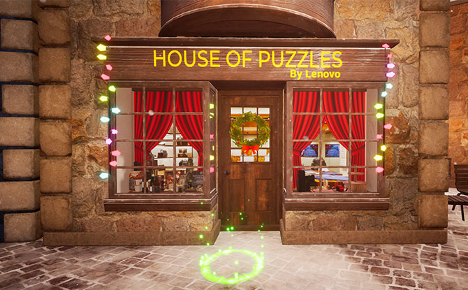 Solve puzzles and stand to win prizes sponsored by Lenovo