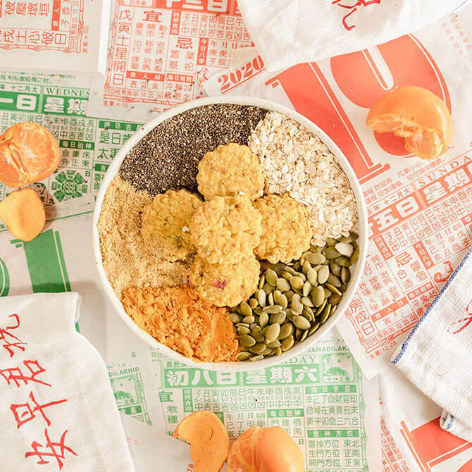 Delcie's Dessert & Cakes' Guilt-free CNY Cookies