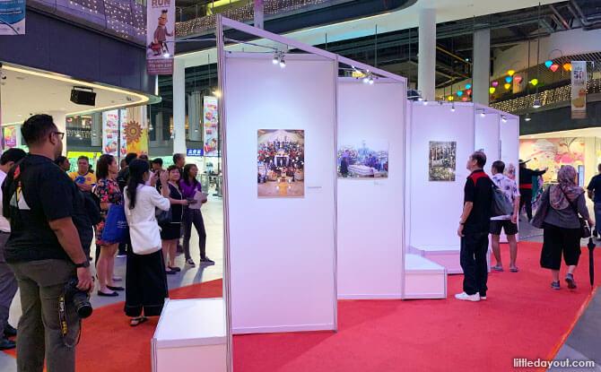 Día de Muertosphotography exhibition at Our Tampines Hub