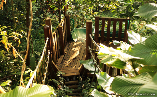 File Image: Old section of the adventure playground at Hindhede Nature Park