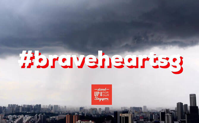 #BraveheartSG - support covid frontliners