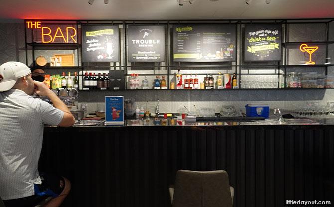 the bar FairPrice Xtra Parkway
