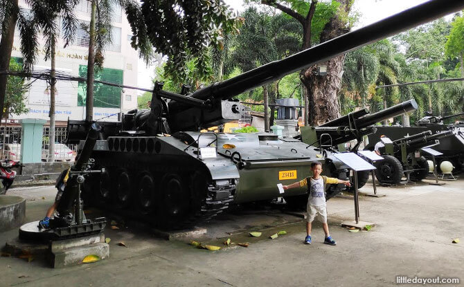 Visit a Museum when visiting Ho Chi Minh City with Kids