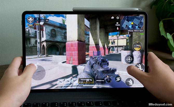 """Call of Duty on the Huawei MatePad Pro 12.6"""""""