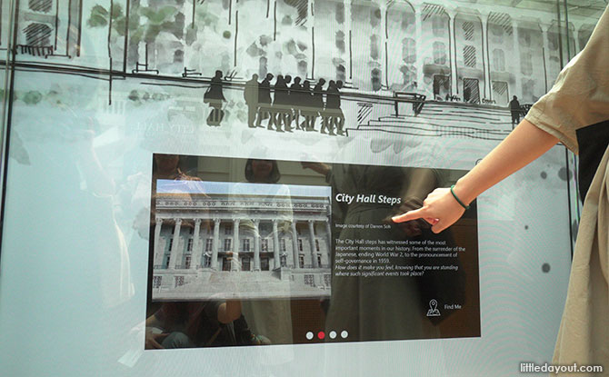 Social Wall at National Gallery Singapore