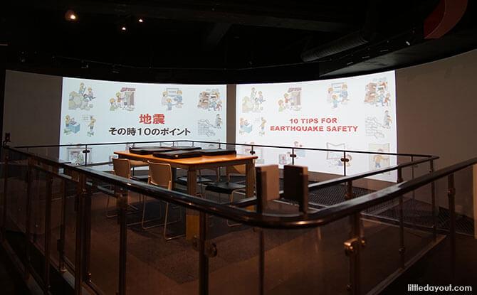 Presentation at the Earthquake Simulator