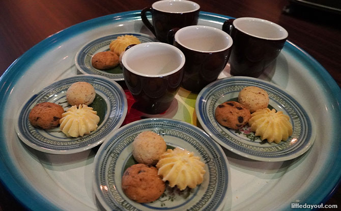 The Intan snacks