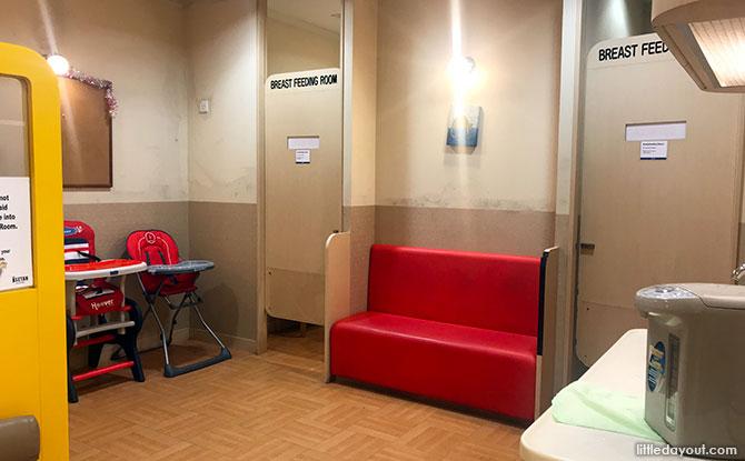 Isetan Scotts Nursing Room
