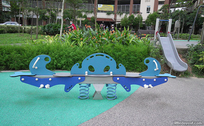 Anchorvale Plain Playground Ocean See Saw