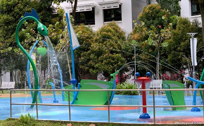 Jelutung Harbour Park water playground