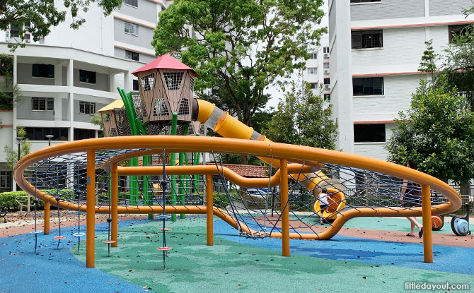 Play Equipment at the Jurong East Street 24 Playground