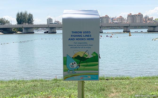 Fishing Zone at Kallang Riverside Park