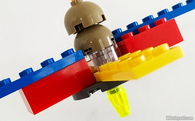 Steps to Build a LEGO Top