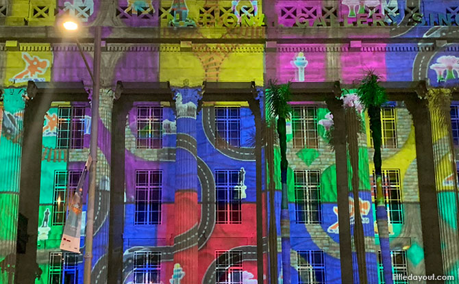 Light to Night Festival 2020 - Art on Monuments