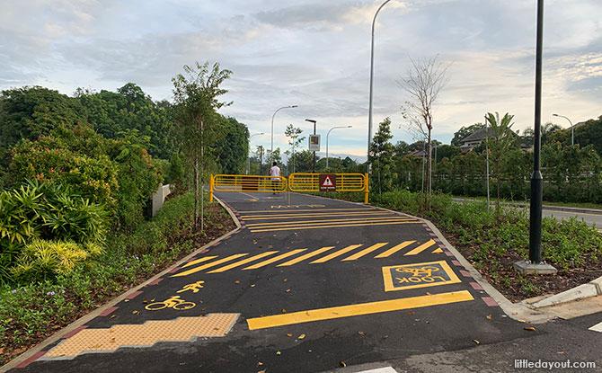 Sime Road end of Lornie Nature Corridor