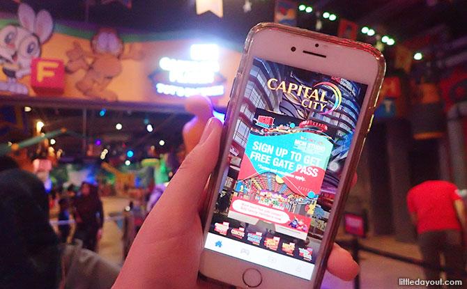 Capital JB app