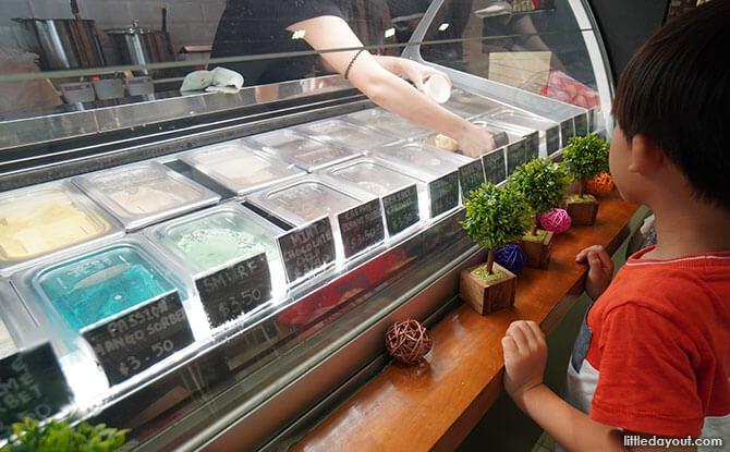 The Milky Way Ice Cream Cafe at Tanglin Halt