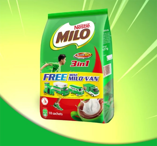 MIni Van MiLO Pack