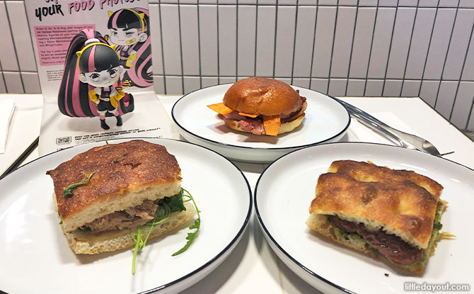 Sandwiches by Mr Holmes Bakehouse
