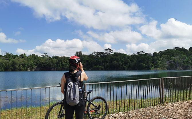 8. Cycle at Pulau Ubin