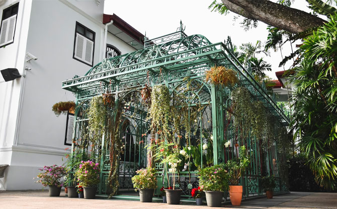 Wildseed Cafe at The Alkaff Mansion