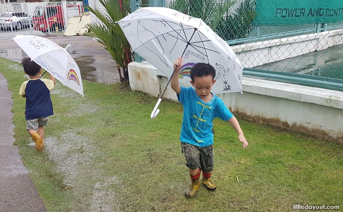 Don't put limitations on the children - tips on outdoor learning