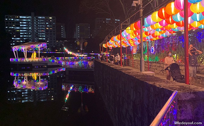 Pang Sua Pond Lights Up For Mid-Autumn Festival 2021