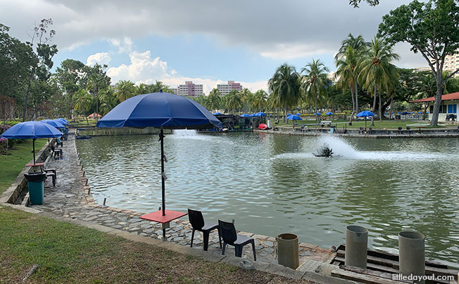 Pasir Ris Town Park: Fishing In The Middle Of A New Town