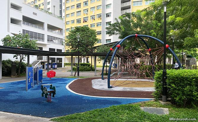 Playground near Tampines Block 890