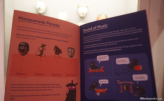 Activity Booklet for Families, Raffles Exhibition, Asian Civilisations Museum