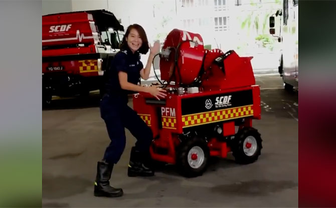 "SCDF Is Back With ""You Don't Know That, Right?"" & Fun Facts About Kallang Fire Station"
