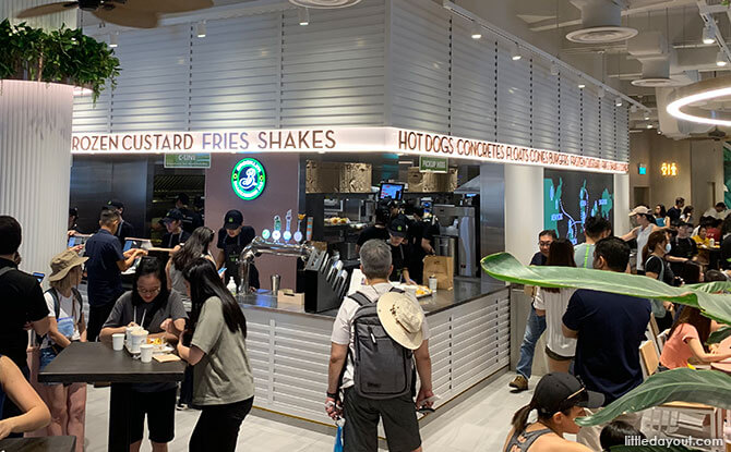 Inside Shake Shack at Neil Road
