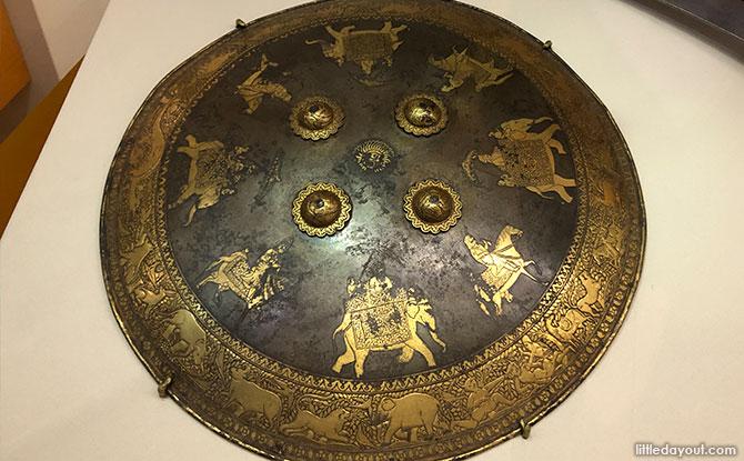 A Shield from Punjab, circa 1835