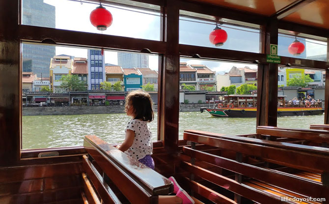 Bumboats of Singapore River Cruise
