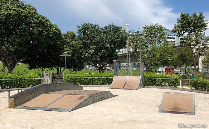 Skate Park in Tampines