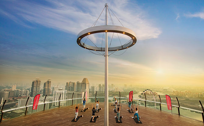Virgin Active Offers Skypark Yoga Classes To Elevate Yoga Practice